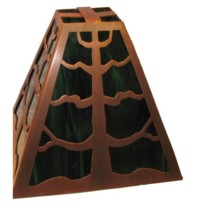 Tree of Life Copper Lamp Shade