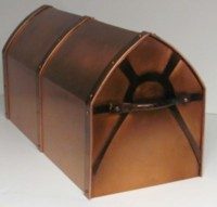 Copper Mailbox - Post Mounted