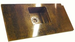 Copper counter & sink