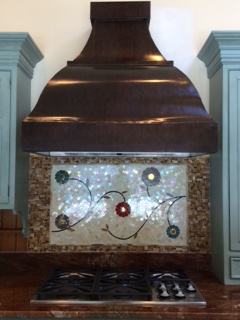 Double arch French Bell copper hood